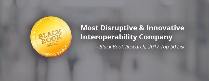 Black Book 2017 Most Disruptive Company Award
