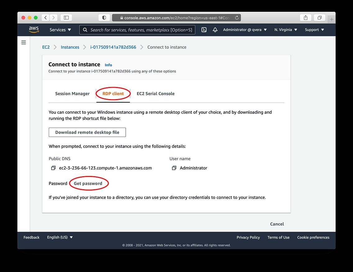 AWS EC2 - RDP client and Password